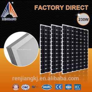 factory direct sale cheap price 230w mono solar panel for sale for solar module system